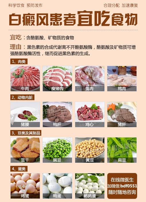 合肥白癜风医院:能不能在食物上控制扩散?